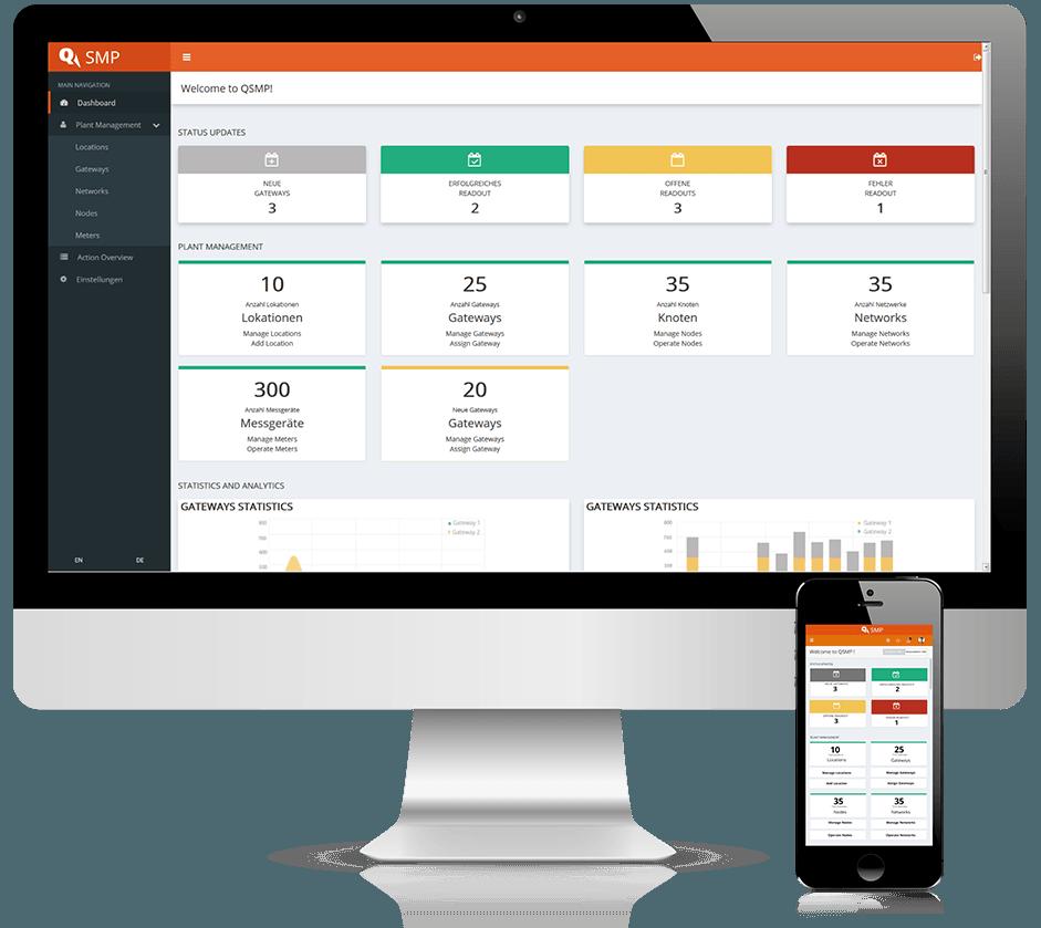 Webportal_QUNDIS-Smart-Metering-Plattform