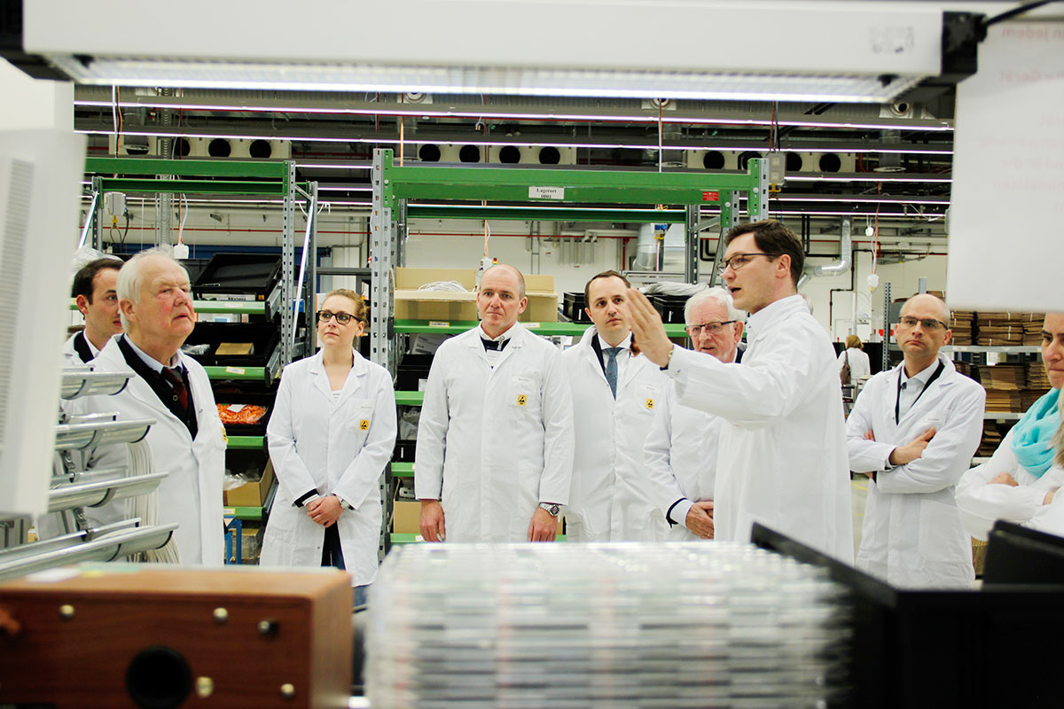 QUNDIS Industrie 4.0 - Smart Factory Besuch