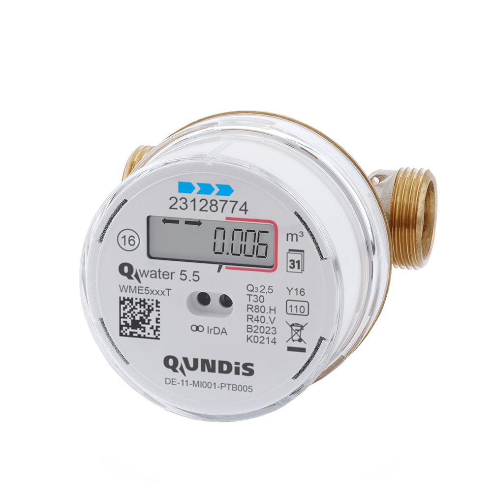 Q water 5.5 (Electronic screw-type water meter)